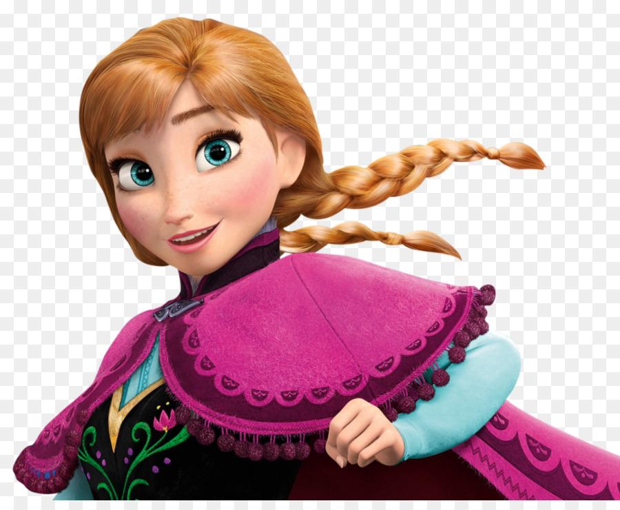 Elsa Anna Frozen Kristoff Ariel - Anna PNG HD - Elsa And Anna PNG