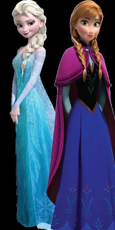 Elsa as Anna.png - Elsa And Anna PNG