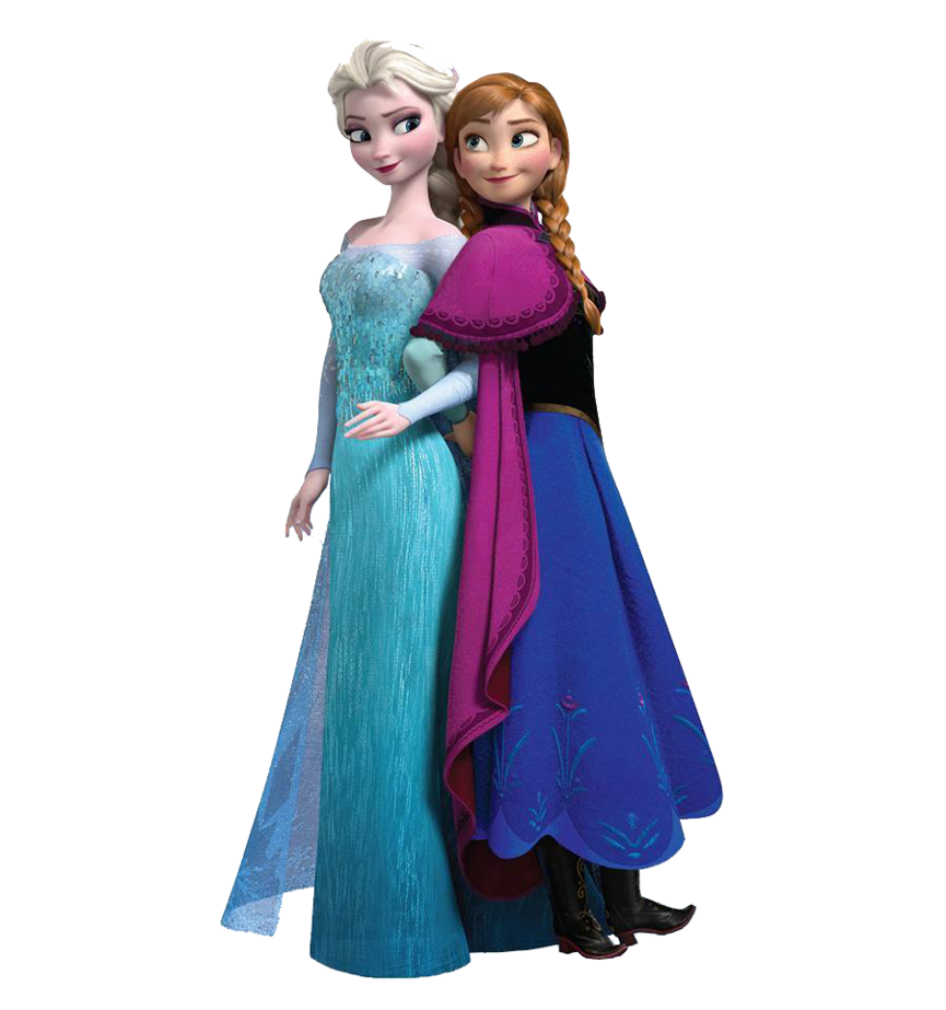 Elsa y Anna PNG by XDrawiSong PlusPng.com  - Elsa And Anna PNG