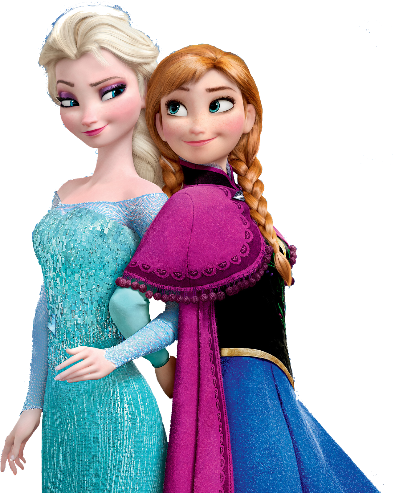 Frozen Anna And Elsa PNG Picture - Elsa And Anna PNG