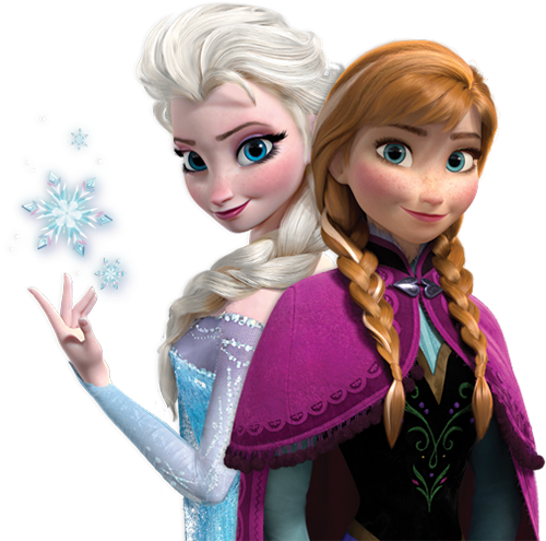 Frozen Elsa Anna PNG File - Elsa And Anna PNG