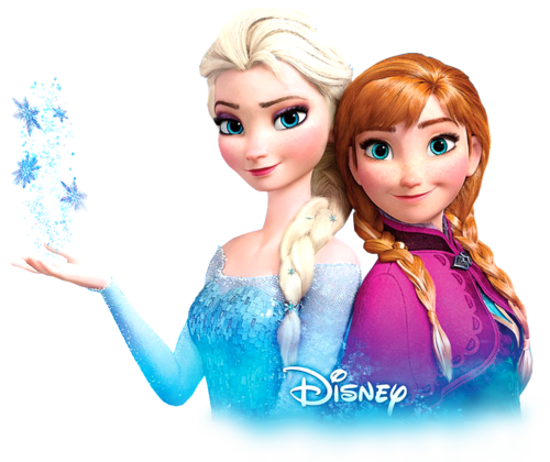 Frozen wallpaper entitled Transparent Anna and Elsa - Elsa And Anna PNG