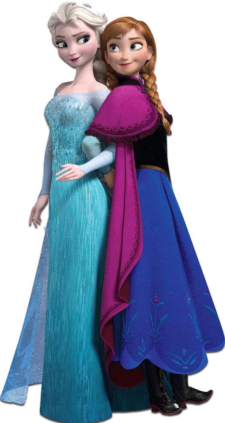 Imagens em PNG para seus projetos. Anna DisneyFrozen PlusPng.com  - Elsa And Anna PNG