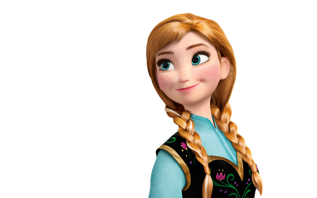Princess Anna Png[Frozen] by NinetailsFoxChan PlusPng.com  - Elsa And Anna PNG