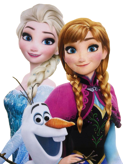 Simmeh 66 17 Elsa, Anna, and Olaf - Vector by Simmeh - Elsa And Anna PNG