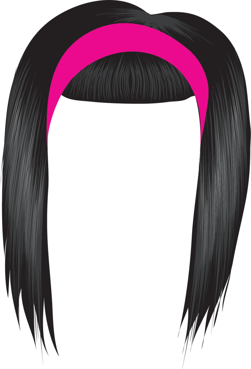 Black Hair Clipart Free Clipart Images - Elvis Hair PNG