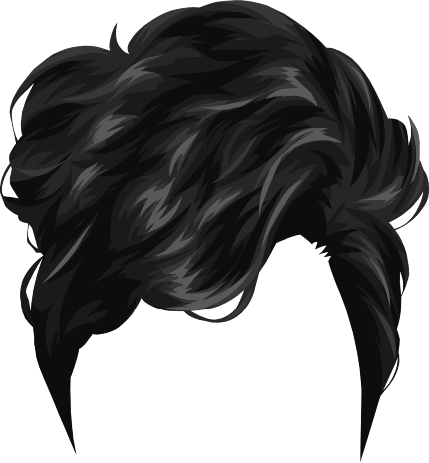 Download PNG image - Hair Png 7 - Elvis Hair PNG