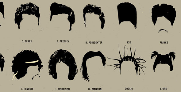Notable Hairstyles of the Musical Stars - Elvis Hair PNG