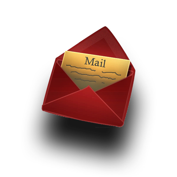 Red Mail Icon (HD) - Email HD PNG