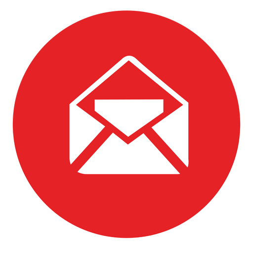 Email Round Icon - Email Icon PNG