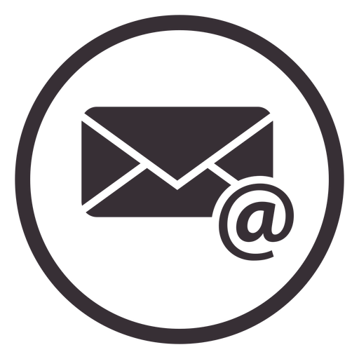 Email Circle Icon Design - Email Icon PNG - Email PNG