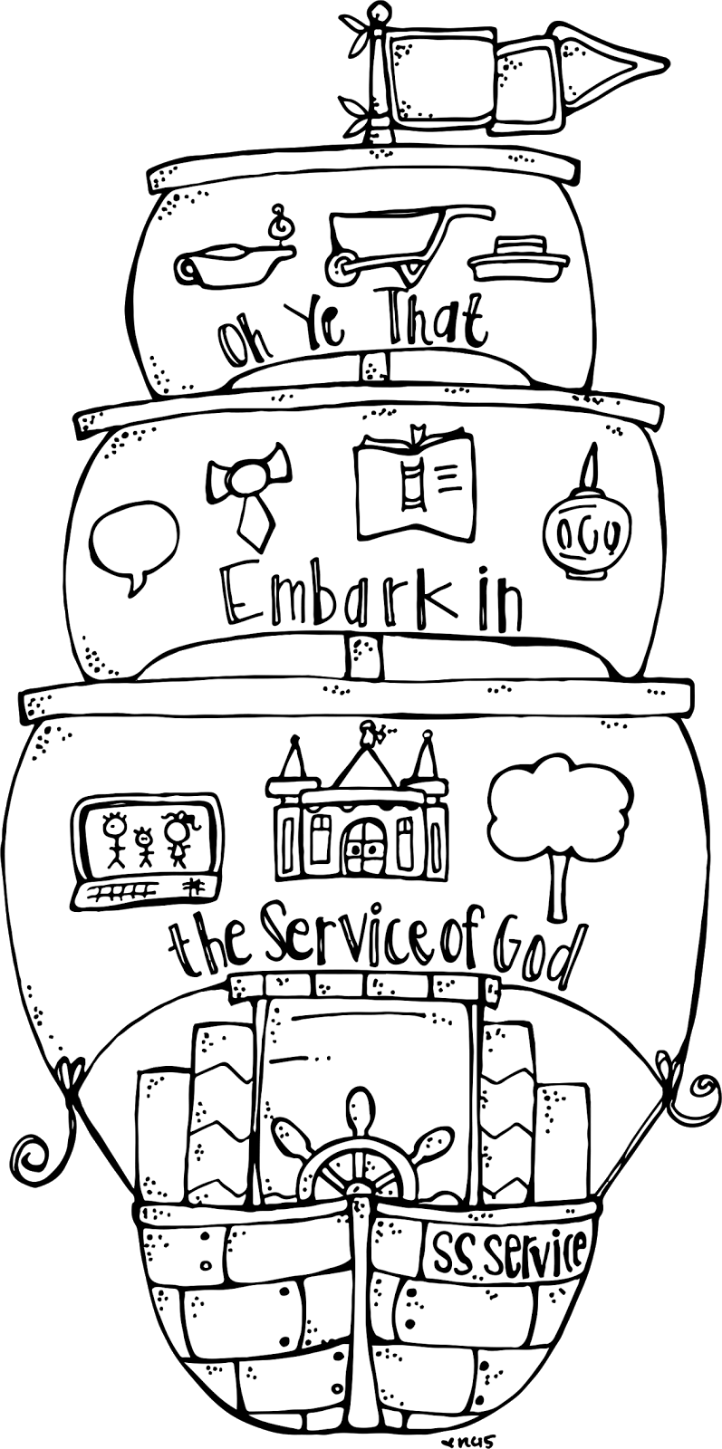 Melonheadz LDS illustrating: 2015 Young Men and Womenu0027s Theme graphic :) |  2015 Theme | Embark in the Service of God | Pinterest | Young man, Girls  camp and PlusPng.com  - Embark In The Service Of God PNG