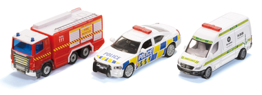 Siku New Zealand Emergency Vehicle Set Series 3 product photo - Emergency Vehicles PNG