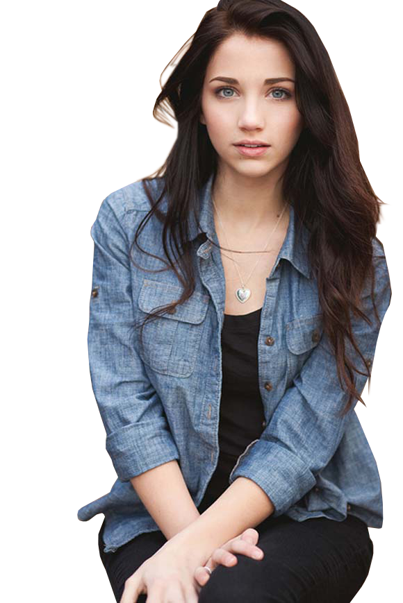 Emily Rudd PNG by Theiosist PlusPng.com  - Emily Rudd PNG