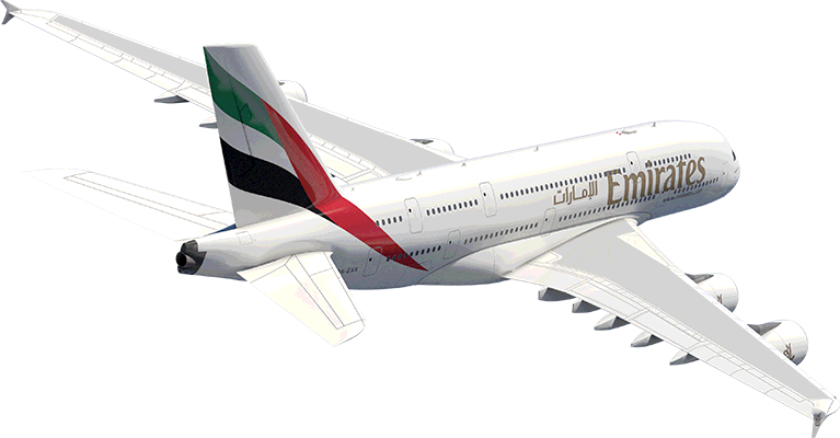 Emirates A380 - Emirates PNG