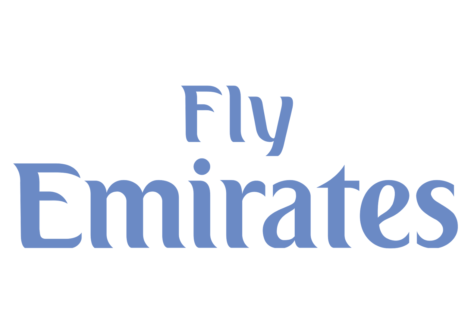 Fly Emirates Logo - Emirates PNG