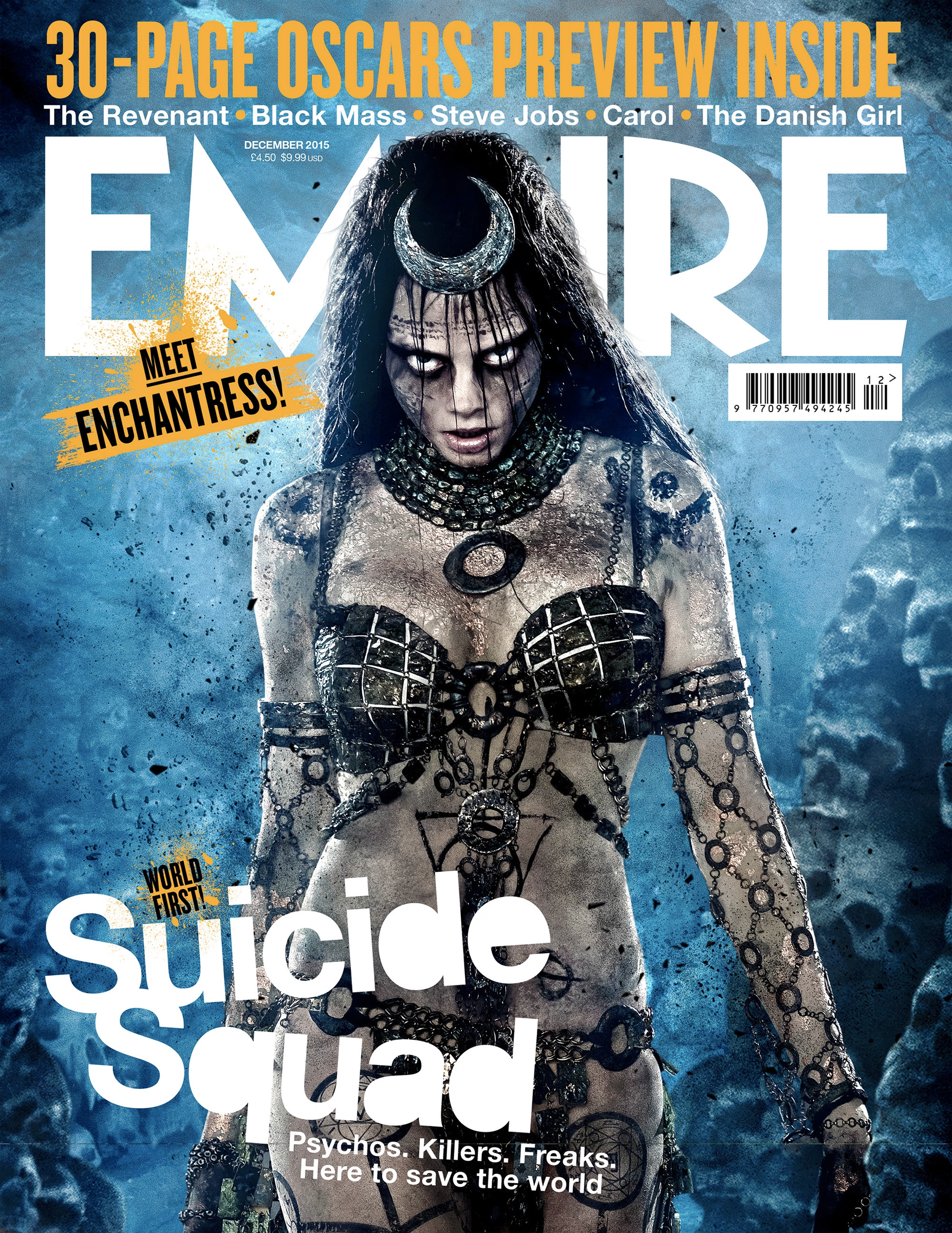 Image - Empire - Suicide Squad Enchantress cover.png | DC Extended Universe  Wiki | FANDOM powered by Wikia - Enchantress HD PNG