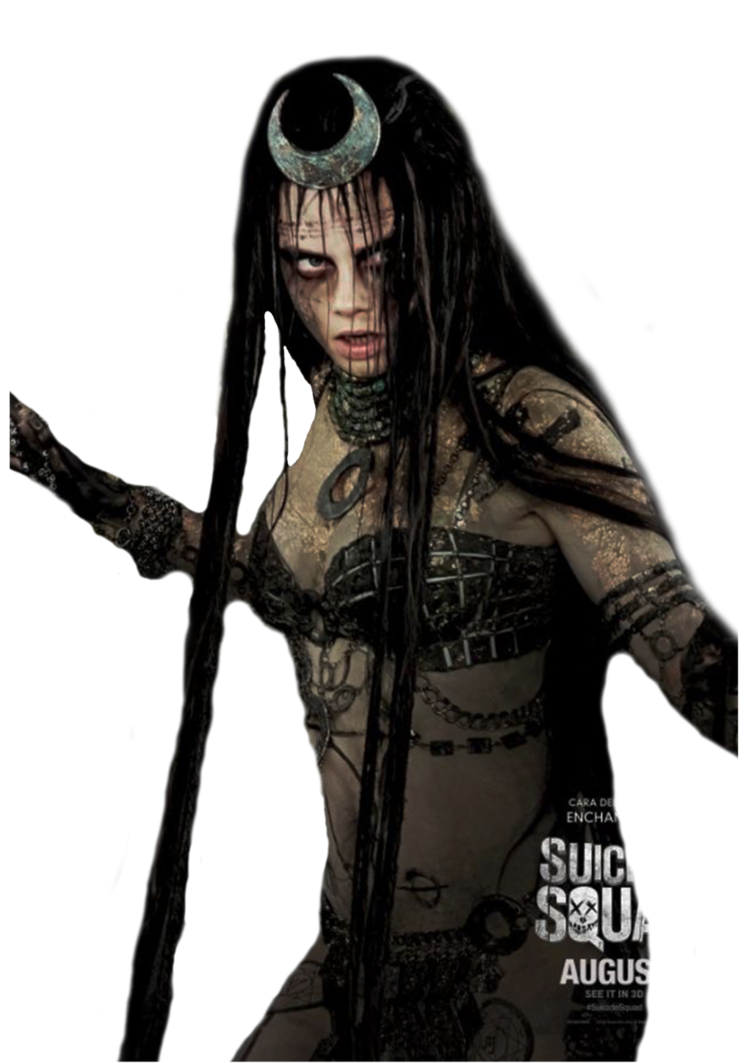 Enchantress Suicide Squad - Transparent #3 by Natan-Ferri PlusPng.com  - Enchantress PNG
