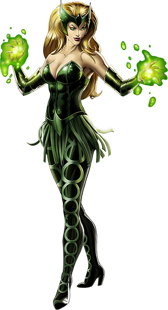 Image - Enchantress Portrait Art.png | Marvel: Avengers Alliance Wiki |  FANDOM powered by Wikia - Enchantress PNG