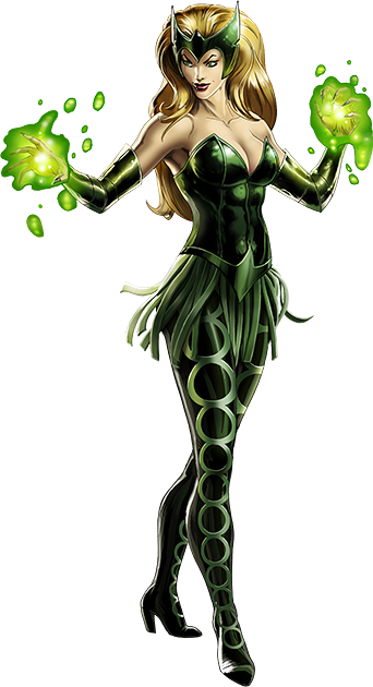 Image - Enchantress Right Portrait Art.png | Marvel: Avengers Alliance Wiki  | FANDOM powered by Wikia - Enchantress PNG