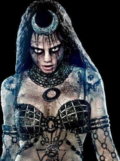 PNG Esquadrão Suicida (Suicide Squad, Deadshot, Amanda Waller, Katana,  Harley Quinn, Boomerang, Rick Flag, El Diablo, Enchantress, Killer Croc )  PlusPng.com  - Enchantress PNG