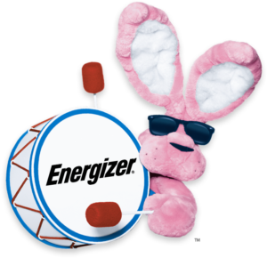 I admire my husband who is like the energizer bunny - Energizer Bunny PNG