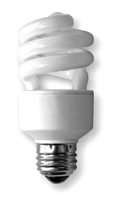 Compact fluorescent lights (CFL) are a good option for energy efficient and  cost saving lighting compared to a traditional incandescent light. - Energy Efficient Light Bulbs PNG