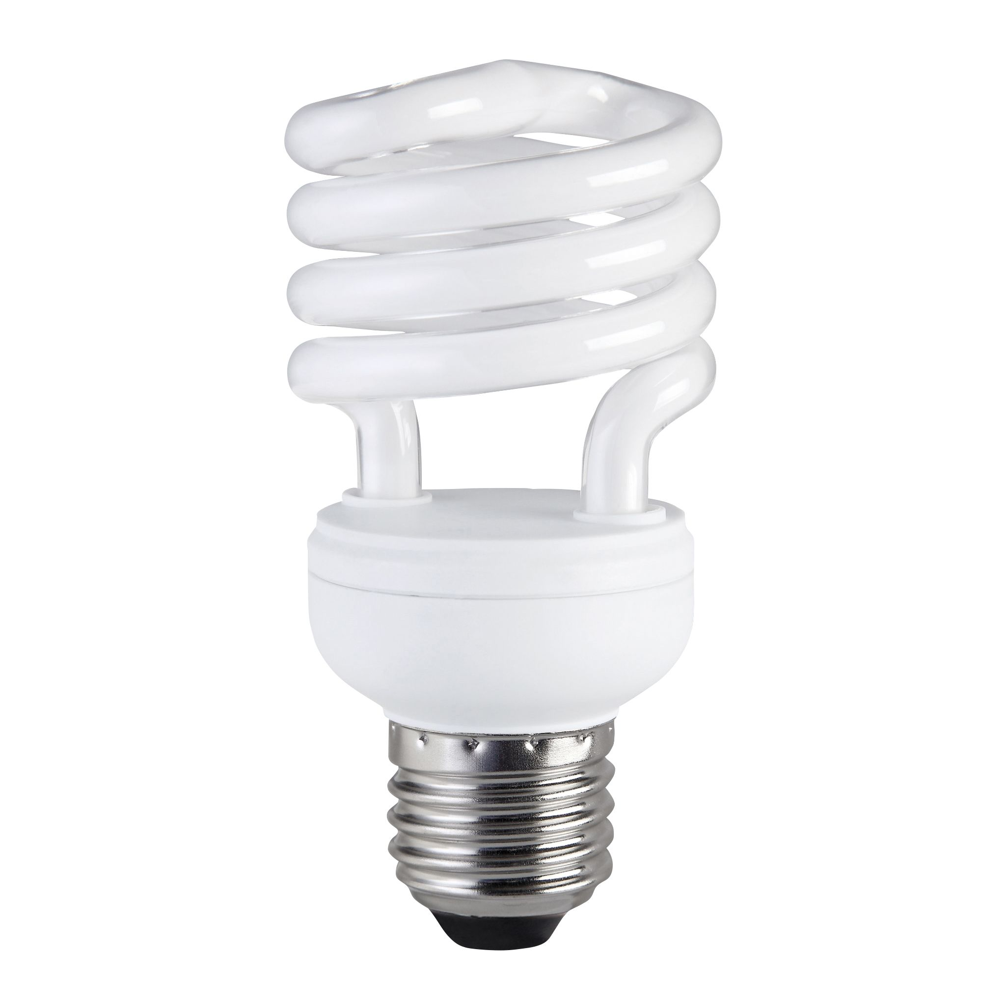 Diall E27 15W CFL Spiral Light Bulb | Departments | DIY at B for Smart Bulb - Energy Efficient Light Bulbs PNG