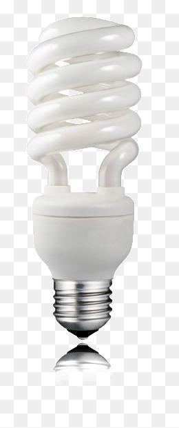 Energy Efficient Light Bulbs PNG