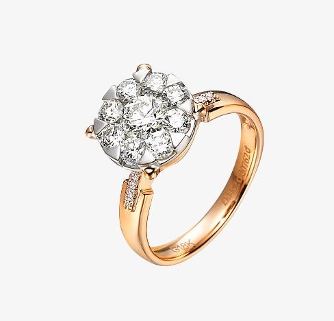 Diamond ring, Hd, Female Mode