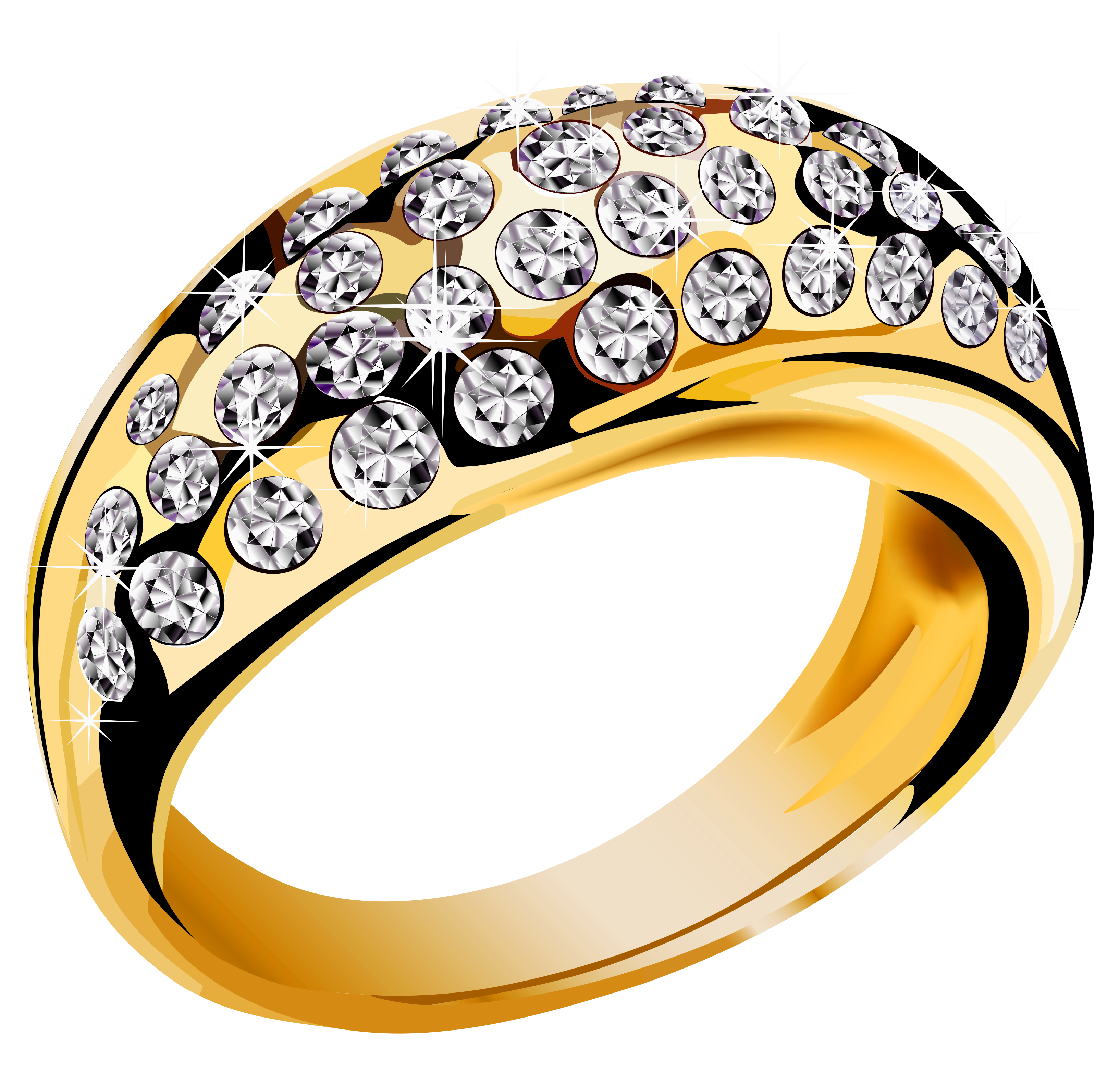 gold ring PNG - Engagement Ring PNG HD Free