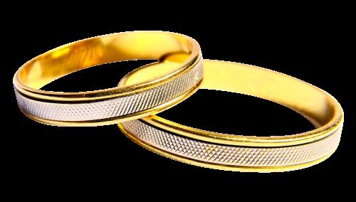 Wedding Rings PNG Transparent