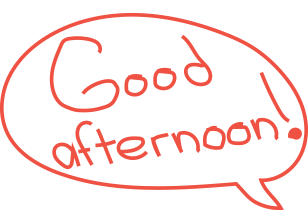 Enjoy the taste u0026 service - Good Afternoon PNG