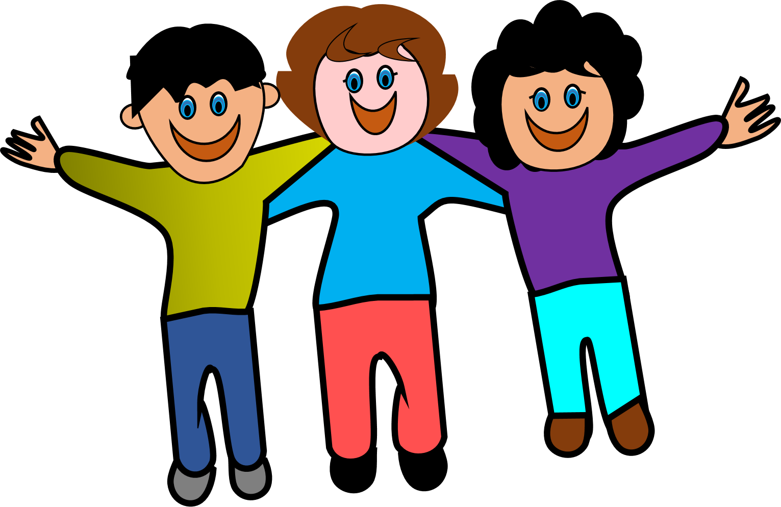 Enjoyment With Friends Clipart - Enjoyment With Friends PNG