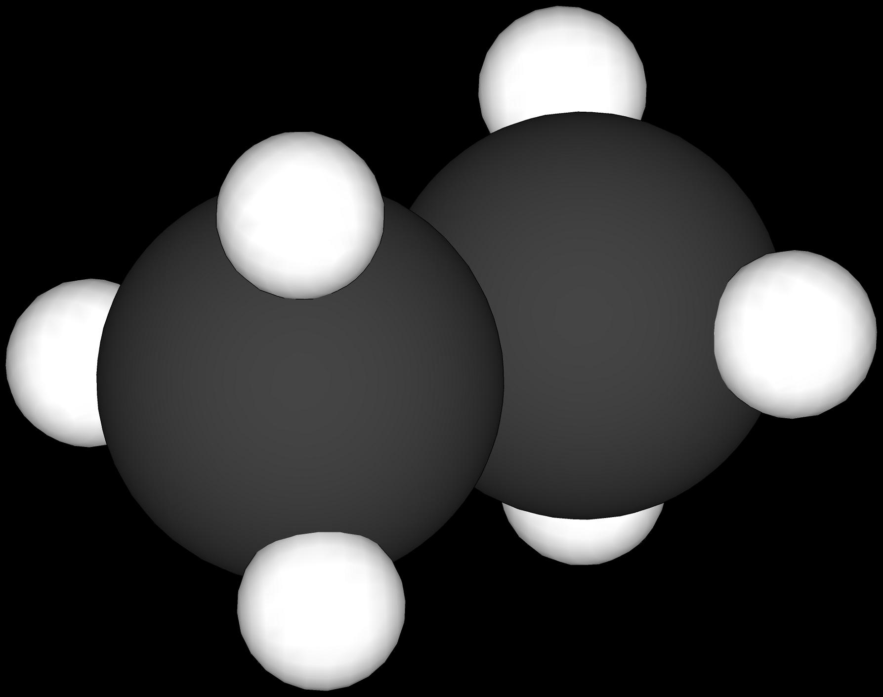 File:Enkel modell av eit etanmolekyl.png - Enkel PNG