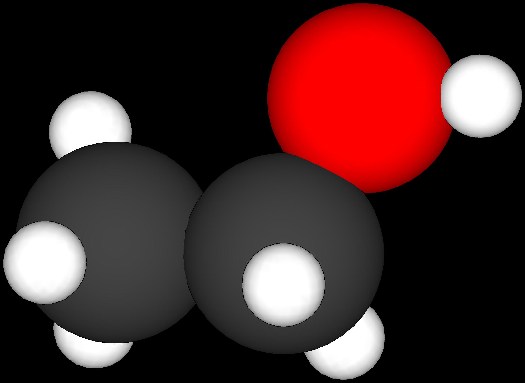 File:Enkel modell av eit etanolmolekyl.png - Enkel PNG