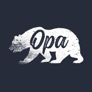 Opa Bear Fatheru0027s Day T-Shirt T-Shirt - Enkelkinder PNG