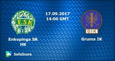 Enkopings SK HK Grums IK live score, video stream and H2H results -  SofaScore pluspng - Enkopings Sk PNG
