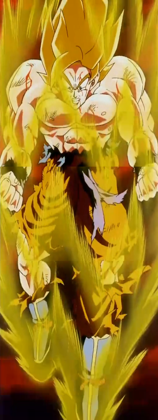 Pathos of Frieza - Goku enraged.png - Enraged PNG