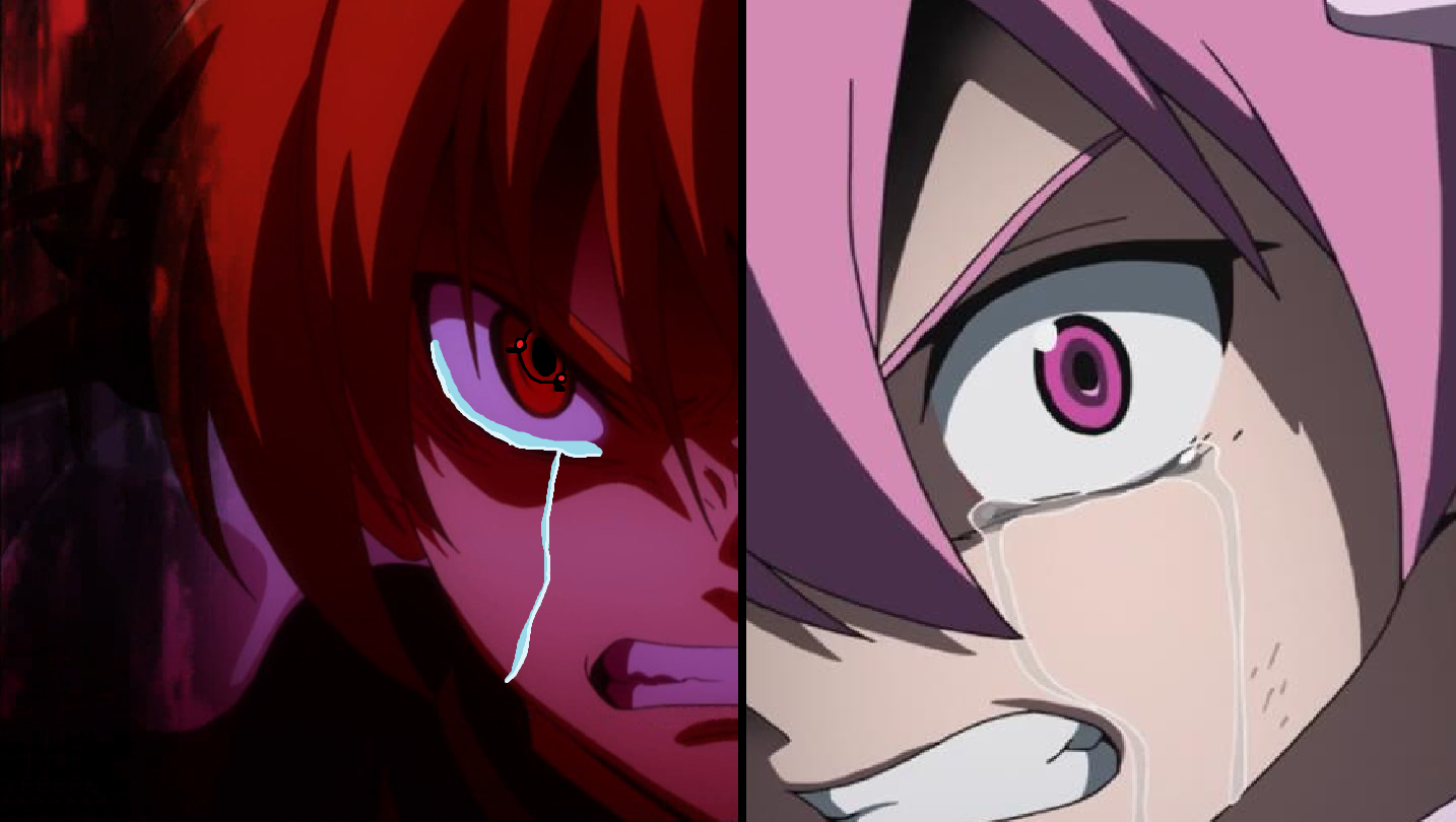 Saya and Mine Enraged.png - Enraged PNG