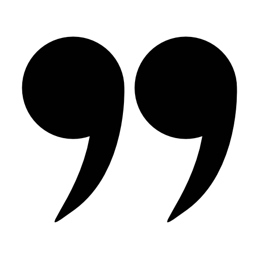 Right double quotation mark - Ensaymada PNG Black And White
