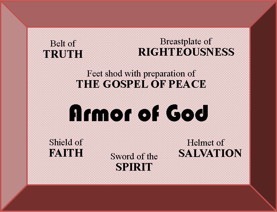 ARMOR OF GOD - Ephesians PNG