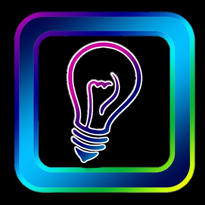 icon birne lampe licht idee gedanke erfindung - Erfindung PNG