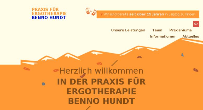 Access ergotherapie-hundt.de. Praxis für Ergotherapie Benno Hundt in 04103  Leipzig - Ergotherapie PNG
