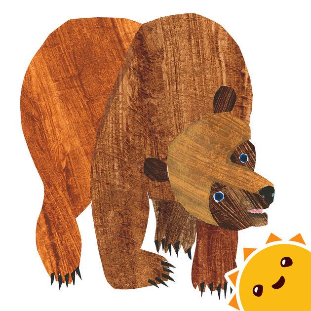 Eric Carle Brown Bear PNG-PlusPNG.com-630 - Eric Carle Brown Bear PNG