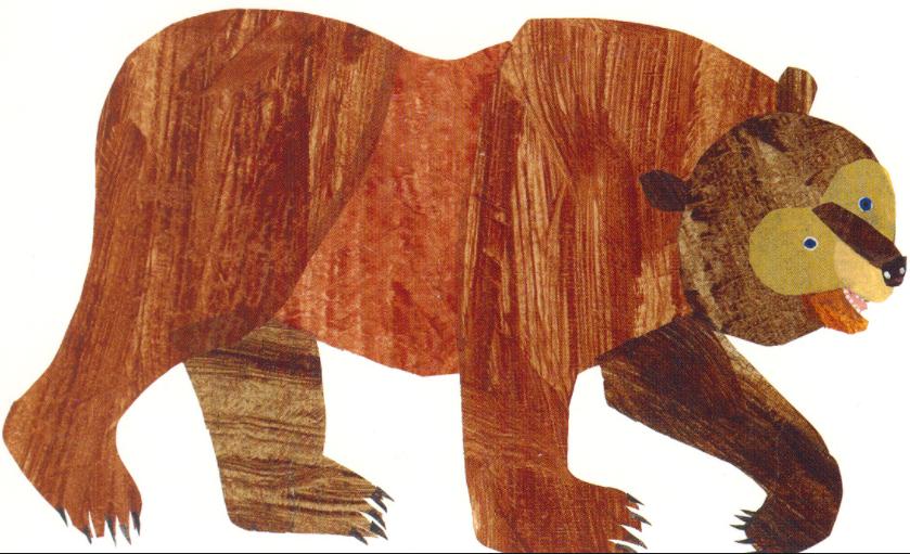 Eric Carle Brown Bear PNG