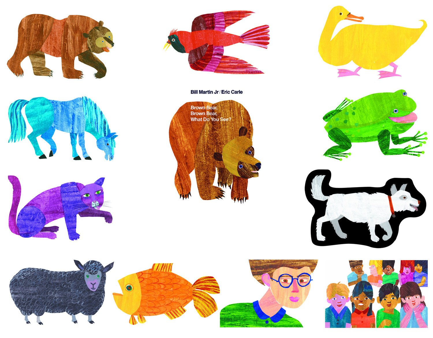 Brown Bear, Brown Bear, What Do You See?™ - Eric Carle Brown Bear PNG