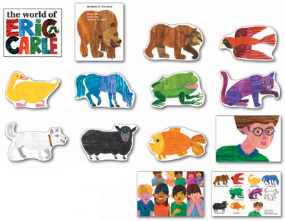 Brown Bear, Brown Bear, What Do You See? The World of Eric Carle™ Bulletin  Board - Eric Carle Brown Bear PNG