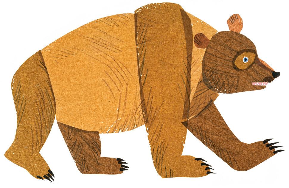 Brown Bear clipart childrenu0027s #8 - Eric Carle Brown Bear PNG