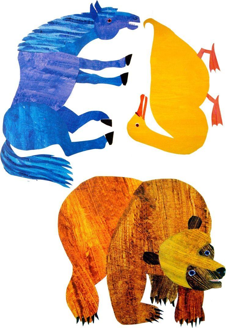 Eric Carle Brown Bear PNG - 132574